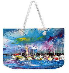 Port Reflections Weekender Tote Bag