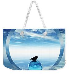 Portal To Peace Weekender Tote Bag