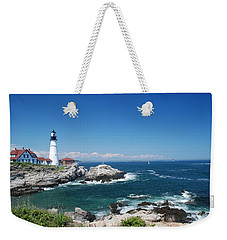 Portland Head Lighthouse Weekender Tote Bag