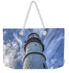 Portland Headlight Weekender Tote Bag by Jane Luxton