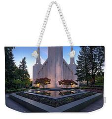 Portland Temple Weekender Tote Bag