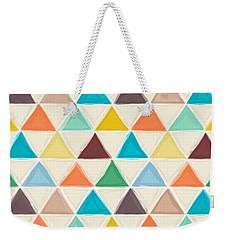 Portland Triangles Weekender Tote Bag