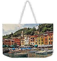 Portofino Harbor 2 Weekender Tote Bag