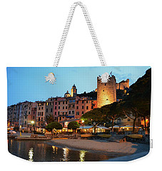 Portovenere At Night Weekender Tote Bag