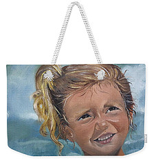 Portrait - Emma - Beach Weekender Tote Bag