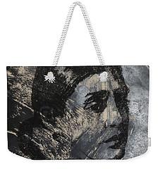 Portrait Monoprint Weekender Tote Bag