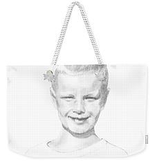 Portrait Of A Boy Weekender Tote Bag