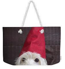 Portrait Of A Garden Gnome Weekender Tote Bag