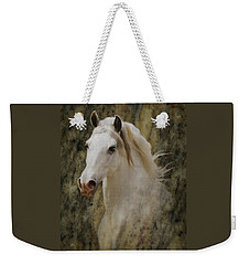 Portrait Of A Horse God Weekender Tote Bag