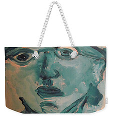 Portrait Of A Man Weekender Tote Bag