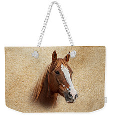 Portrait Of A Mare Print Weekender Tote Bag