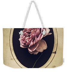 Portrait Of A Rose Weekender Tote Bag
