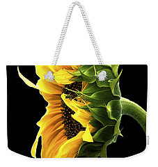 Portrait Of A Sunflower Weekender Tote Bag