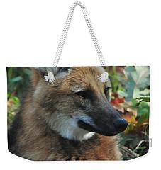 Portrait Of A Wolf Weekender Tote Bag