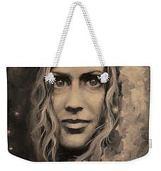 Portrait Of Annie Weekender Tote Bag