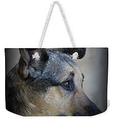 Portrait Of Kylie Weekender Tote Bag