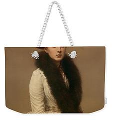 Portrait Of Sonia Weekender Tote Bag