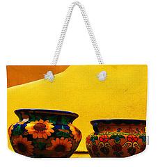 Portrait Of Taos Weekender Tote Bag