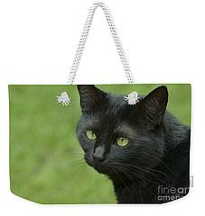 Portrait Of Satin Weekender Tote Bag