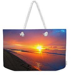 Portrush Sunset Weekender Tote Bag