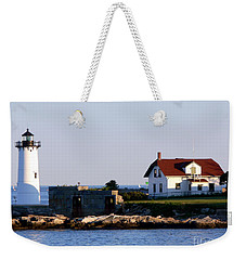Portsmouth Harbor Light Weekender Tote Bag by Kevin Fortier