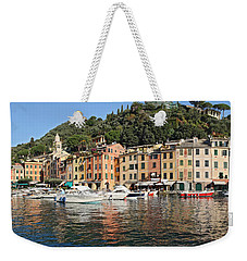 Weekender Tote Bag featuring the photograph Porttofino - Italy by Antonio Scarpi