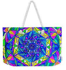 Positive Focus Weekender Tote Bag