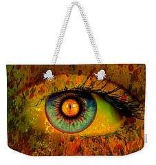 Possessed Weekender Tote Bag by Ally  White