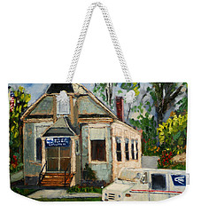 Post Office At Lafeyette Nj Weekender Tote Bag