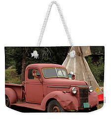 Postcard From Yesterday Weekender Tote Bag by Lynn Sprowl