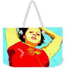 Poster Girl 2 Weekender Tote Bag by Randi Grace Nilsberg