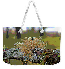 Posterized Antler Lichen Weekender Tote Bag