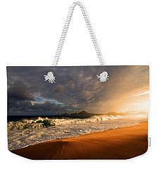 Weekender Tote Bag featuring the photograph Power by Eti Reid