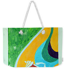 Power Of Aum Weekender Tote Bag by Sonali Gangane