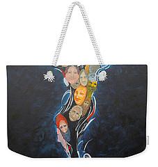 Power Of Man Weekender Tote Bag