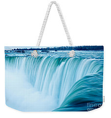 Power Of Niagara Falls Weekender Tote Bag