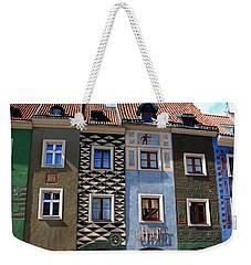 Poznan Town Houses Weekender Tote Bag