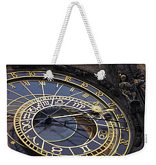 Prague Orloj Weekender Tote Bag