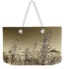 Weekender Tote Bag featuring the photograph Prairie Grass by Ellen O'Reilly
