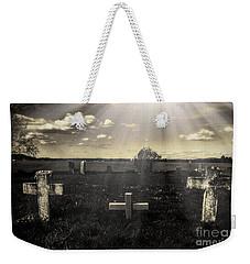 Prairie Graves Weekender Tote Bag