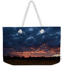 Prairie Sunrise Weekender Tote Bag