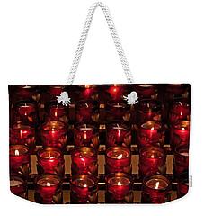 Prayer Candles Weekender Tote Bag