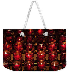 Prayer Candles Weekender Tote Bag