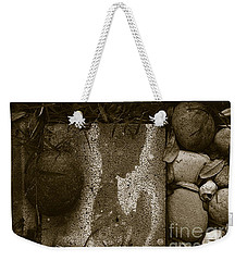 Weekender Tote Bag featuring the photograph Prayers by Fei A