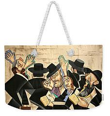Praying Rabbis Weekender Tote Bag