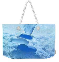 Precarious Heart Weekender Tote Bag by Barbara McMahon