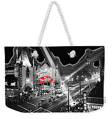 Weekender Tote Bag featuring the photograph Premier Of The Robe 1953 Grauman's Chinese Theater Los Angeles Ca 1953-2012 by David Lee Guss
