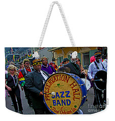 New Orleans Jazz Band  Weekender Tote Bag by Luana K Perez