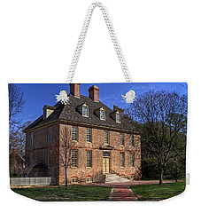 Weekender Tote Bag featuring the photograph President's House College Of William And Mary by Jerry Gammon