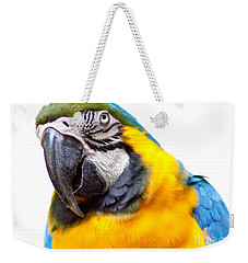 Weekender Tote Bag featuring the photograph Pretty Bird by Roselynne Broussard